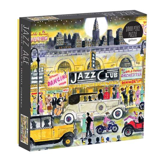 Michael Storrings Jazz Age 1000 Piece Puzzle by Michael Storrings