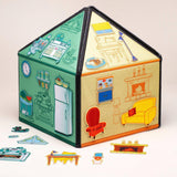 """My little house"" toy play set."