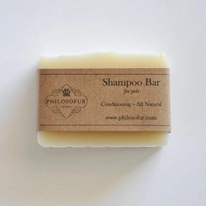 A bar of conditioning shampoo for pets.