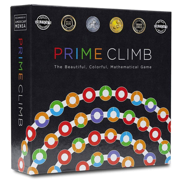 A box of prime climb game set.