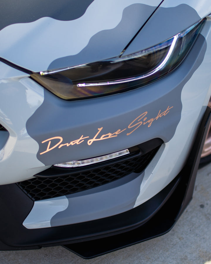 DLS Rose Gold Decal