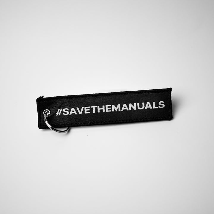 Keytags - Save The Manuals