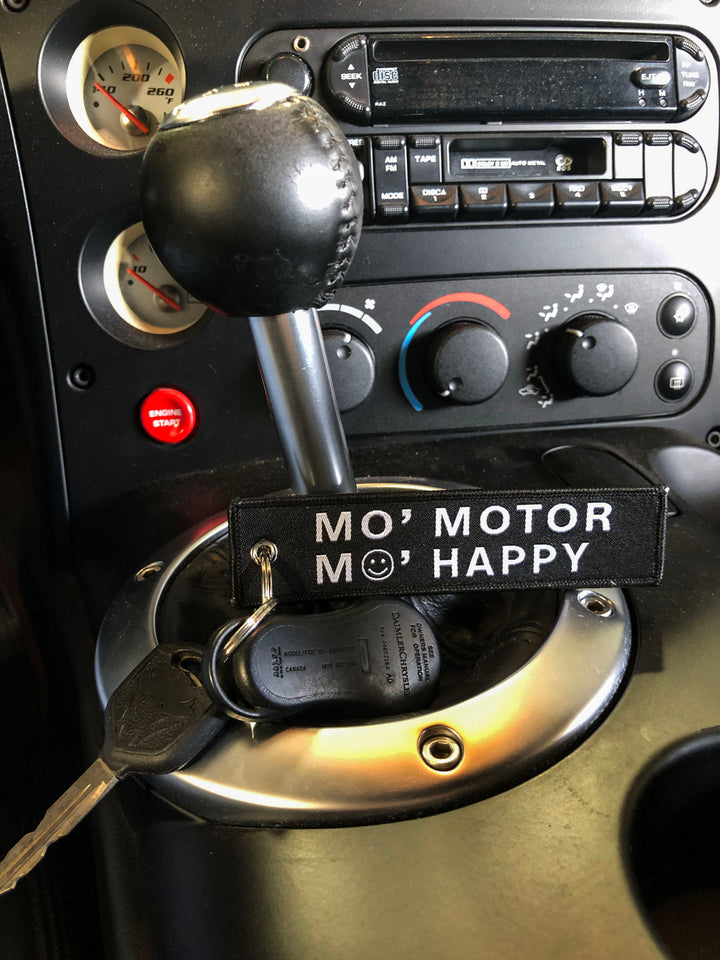 Keytags - Mo' Motor Mo' Happy