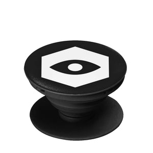 Black Collapsible Grip & Stand for Phones & Tablets - Insomnia Eye