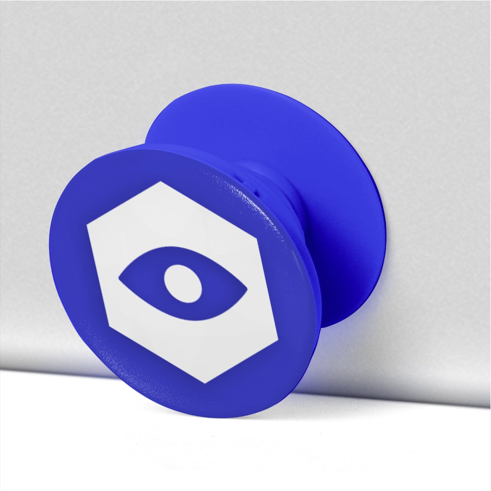 Blue Collapsible Grip & Stand for Phones & Tablets - Insomnia Eye