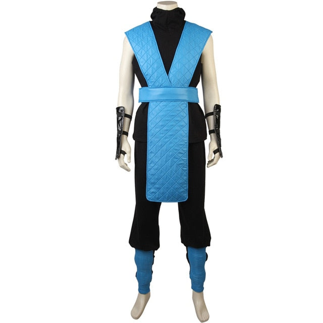 Mortal Kombat X Sub-Zero Cosplay Costumes Custom made