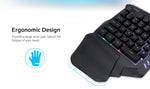 GameSir X1 BattleDock with G30 Wired Gaming keyboard and HXSJ Mouse