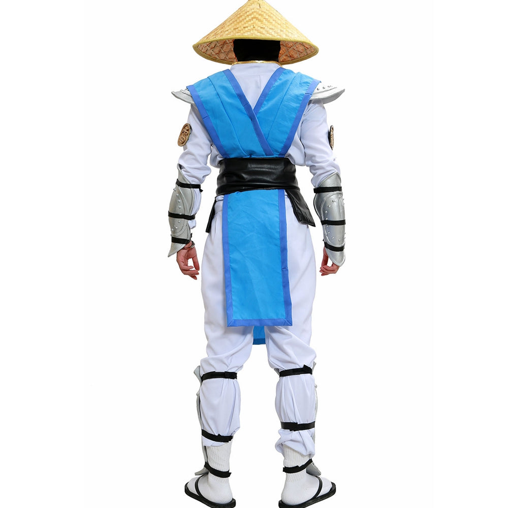 Mortal Kombat X Raiden Cosplay Outfit With Full Set Armor Game Cosplay Costume (Without Hat)
