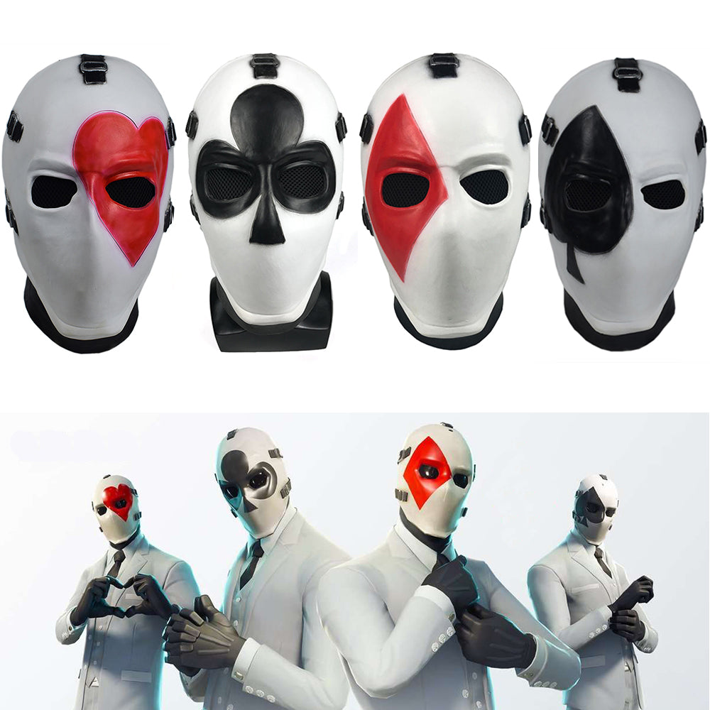 Fortnite High Stakes Mask Cosplay Fortnite High Stakes Masks Battle Royale Adult Half Face Helmet