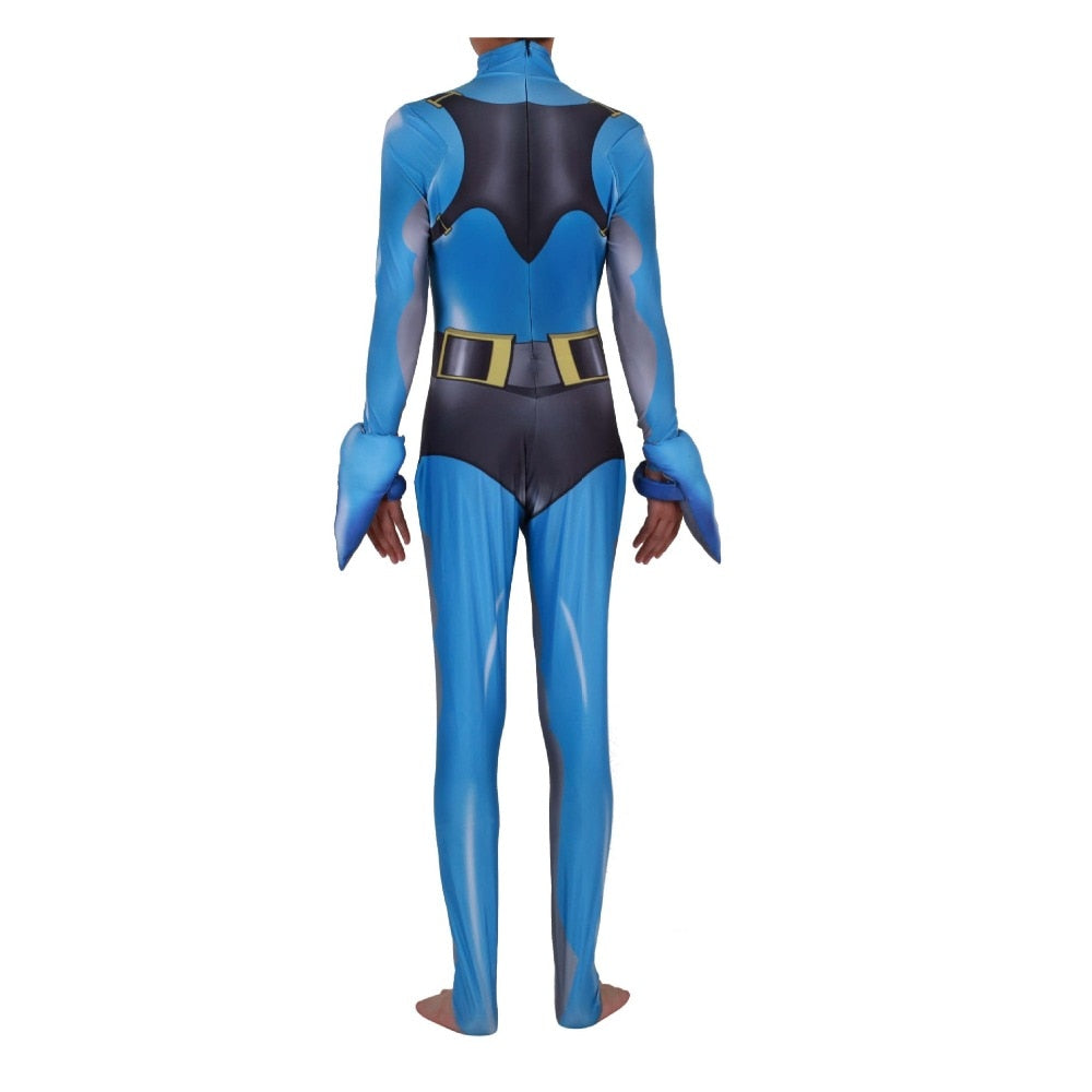 Fortnite Battle Royale Shark Cosplay Costume Zentai Bodysuit