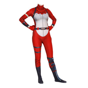 Fortnite Battle Royale Tricera Ops Cosplay Costume Zentai Bodysuit