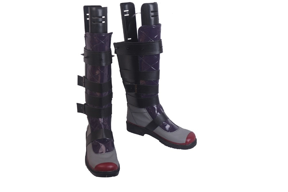 Apex Legends Wraith Cosplay Boots Shoes Custom Made Any Size