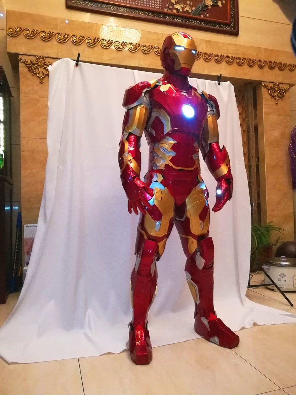 Iron Man MK43 Suit Iron Man Cosplay Costume Wearable Made to Measure and Movie Accurate Iron Man Armor