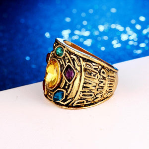 Marvel Avengers 4: Endgame Thanos Gauntlet Power Ring