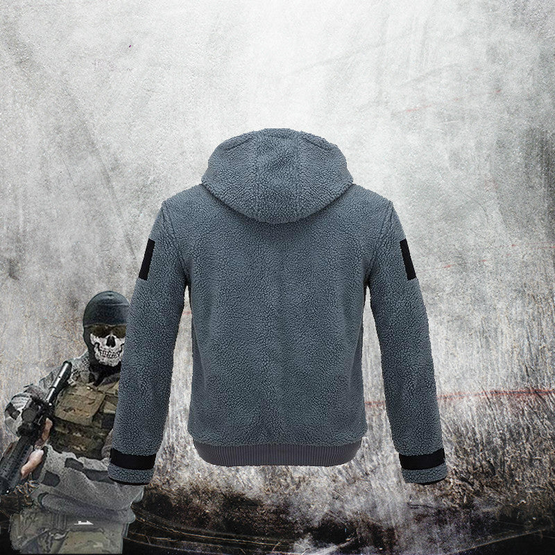 Game Call of Duty Cosplay Hoodies Green Ghost Coat Women Men Zipper Coat TF 141 Team Uniform
