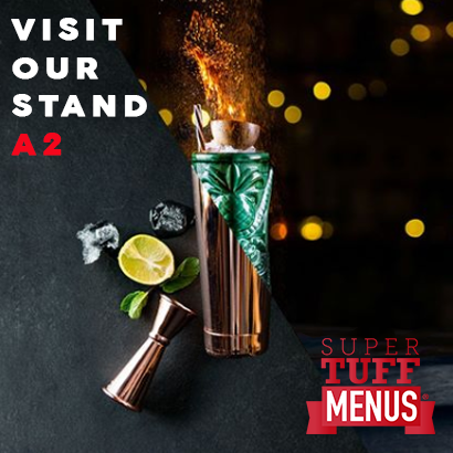SuperTuffMenus at the Northern Restaurant & Bar Show in 2020