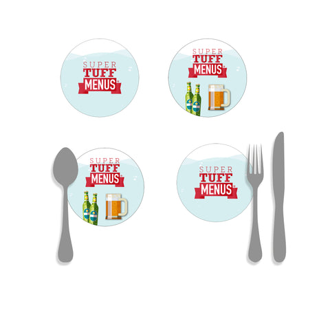 Coasters, Beer Mats - Round