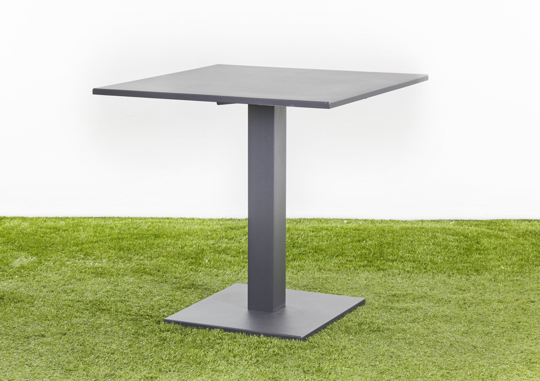 Zeus square bistro table boulevard outdoor inspirations zeus square bistro table watchthetrailerfo