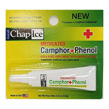 Load image into Gallery viewer, Chap-Ice Medicated Camphor Phenol Cold Sore Treatment