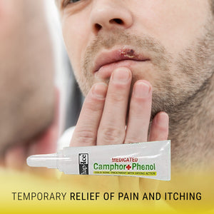 Chap-Ice Medicated Camphor Phenol Cold Sore Treatment