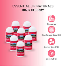 Load image into Gallery viewer, Lip Naturals | Mini Lip Balm - 12 Count [SPF-15] (Bing Cherry)
