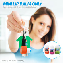 Load image into Gallery viewer, Chap-Ice Mini Lip Balm Bundle - (Assorted 12 Count) + 1 Mini Neoprene Sleeve with Swivel