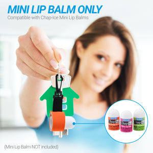 Chap-Ice Mini Lip Balm Bundle - (Assorted 12 Count) + 1 Mini Neoprene Sleeve with Swivel