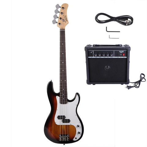 Glarry Beginner's Bass Guitar Set