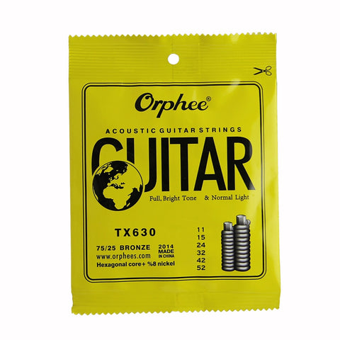 Orphee Acoustic Guitar Strings (Light 011-052)