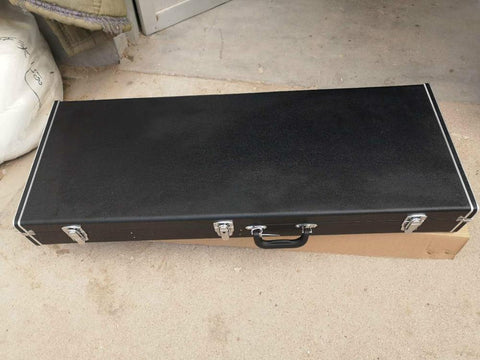Leather Hard-Shell Guitar Case