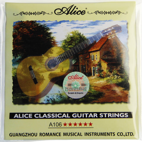 Alice A106 Clear Nylon Strings