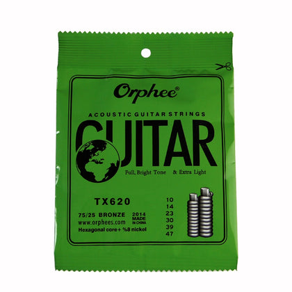 Orphee Acoustic Guitar Strings (Extra-Light 010-047)