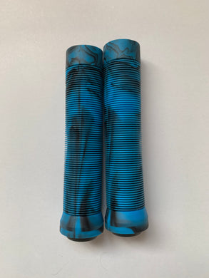 Bar Grips Blue/Black 145mm