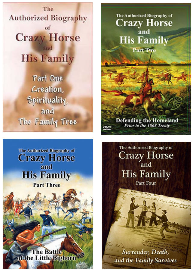 Biography Of Crazy Horse:  4 DVD Box Set