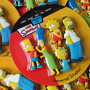 Set Imanes Los Simpsons