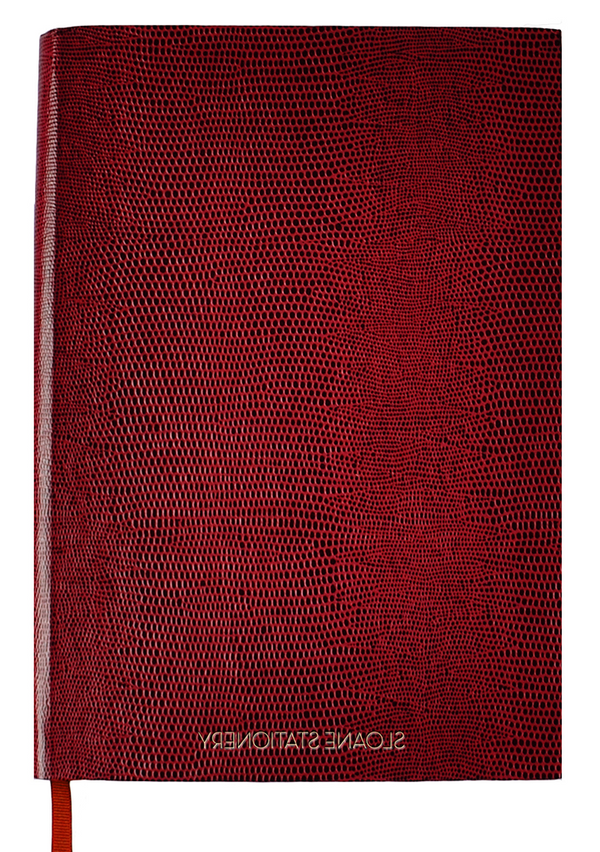 NOTEBOOK - BURGUNDY