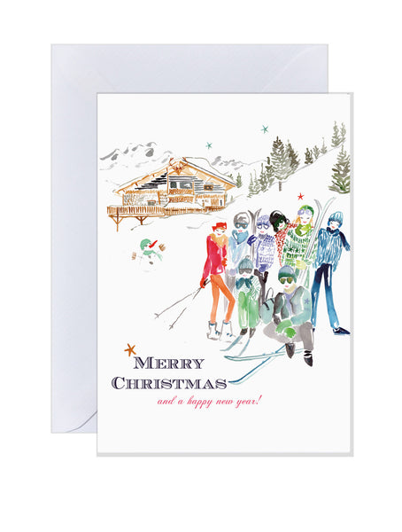 Holiday Cards - Ski Break
