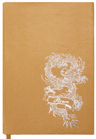 Tattoo Notebook - Fierce Dragon
