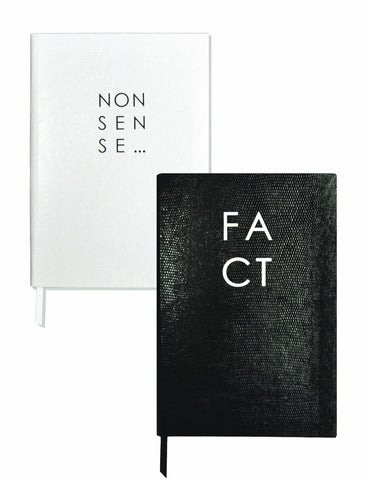 Set of Two Contrast Notebooks - Fact / Nonsense