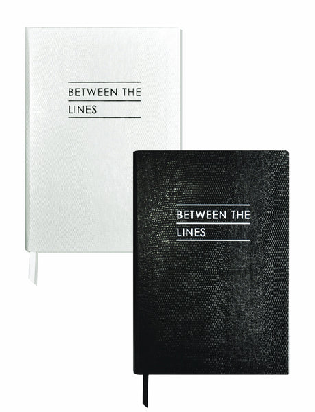 Set of Two Contrast Notebooks - Between the Lines