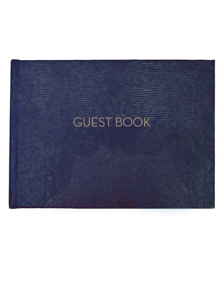 Wedding Guest Book - Navy