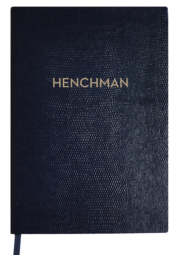 NOTEBOOK NO°116 - HENCHMAN