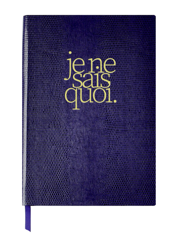 NOTEBOOK NO°5 - JE NE SAIS QUOI