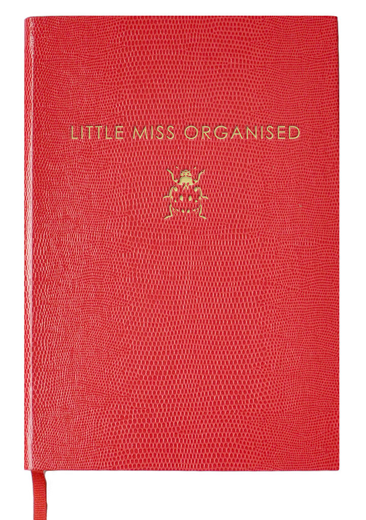 NOTEBOOK NO°9 - LITTLE MISS ORGANISED