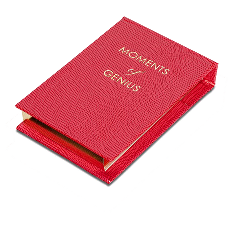 REFILLABLE NOTEPAD NO°39 - Moments of Genius
