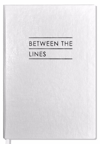 Contrast BETWEEN THE LINES - NOTEBOOK - White