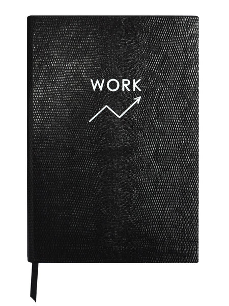 Set of Two Contrast Notebooks - Work / Play