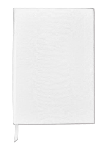 Contrast Monogram Notebook - White