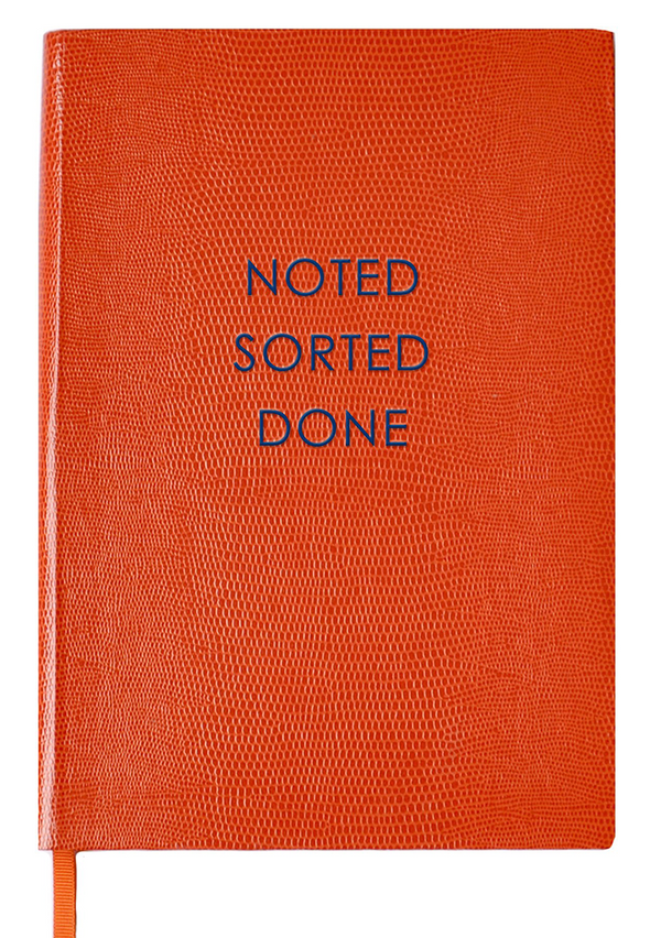 NOTEBOOK NO°53 - NOTED, SORTED, DONE