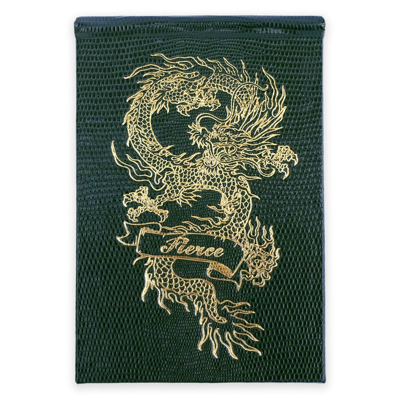 REFILLABLE NOTEPAD NO°98 - FIERCE DRAGON